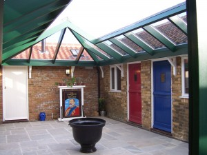 Courtyard - Accommodation